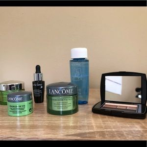 BNWT Lancome 7-piece makeup and skincare set